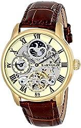 Thomas Earnshaw Men's ES-8006-06 Longitude Analog Display Automatic Self Wind Brown Watch