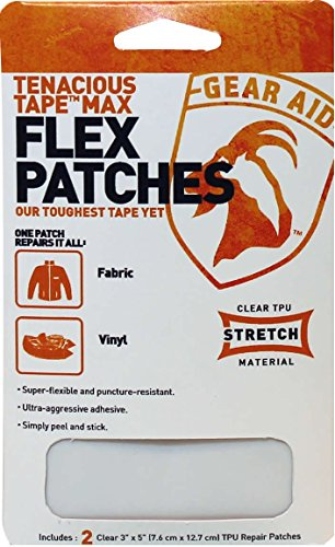 Gear Aid Tenacious Tape Max Flex Stretch Patches