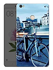 """Cycle On A BridgePrinted Designer Mobile Back Cover For """"Xiaomi Redmi Max"""" (3D, Matte, Premium Quality Snap On Case)"""