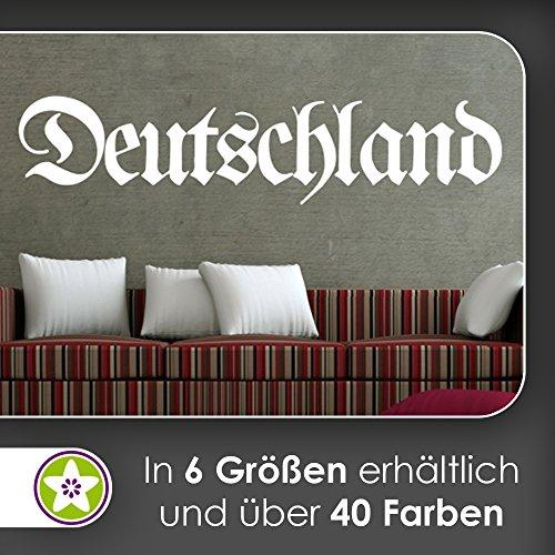 kiwistar deutschland altdeutsche schrift oldschool retro wandtattoo in 6 gr en. Black Bedroom Furniture Sets. Home Design Ideas