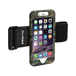 TuneBand for iPhone 6, Premium Sports Armband with Two Straps and Two Screen Protectors (CAMO)