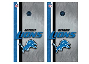NFL Detroit Lions Cornhole Shield by Wild Sports