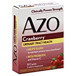Azo Urinary Tract Health, Cranberry, Caplets, 50 caplets