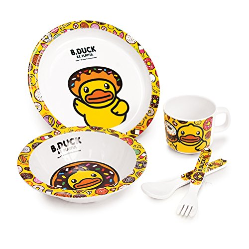 B.Duck Kids Tableware (Set of 5)