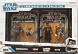 Star wars The Legacy Collection - Commemorative Tin Collection - 3 of 3 - Episode V The Empire Strikes Back - Inclues Chewbacca, Yoda, Darth Vader and IG-88 in a Tin - Made by Hasbro in 2008
