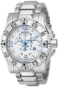 Invicta Men's 15300 Excursion Analog Display Swiss Quartz Silver Watch