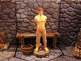 メタルフィギュア「囚われ人と拷問道具」