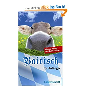 eBook Cover für  Langenscheidt Bairisch f xFC r Anf xE4 nger