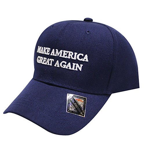 [C901v Make America Great Again Donald Trump Velcro Cap Navy] (Bellboy Costumes)