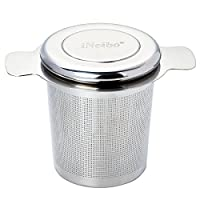 I Neibo Tea Infuser Perfect For Single Cup Of Extra Fine Loose Leaf Tea Brew In Mug Strainer Steeper Instead Of Tea Ball (Small)