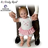Lifelike Interactive Walking Baby Doll by Linda Murray: Isabella's First Steps