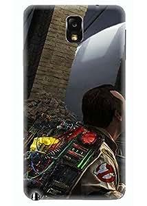Spygen Premium Quality Designer Printed 3D Lightweight Slim Matte Finish Hard Case Back Cover For Samsung Galaxy Note 3