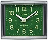 CITIZEN 電波目覚し時計 ジールR434 集光文字板 グレー色 4RL434-008