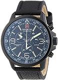 Swiss Military Hanowa Herren-Armbanduhr XL ARROW Chrono Analog Quarz Leder 06-4224.13.007