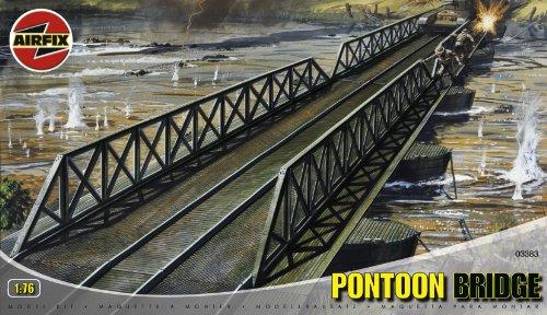 Airfix A03383 1:76 Scale Pontoon Bridge Dioramas Classic Kit - 1
