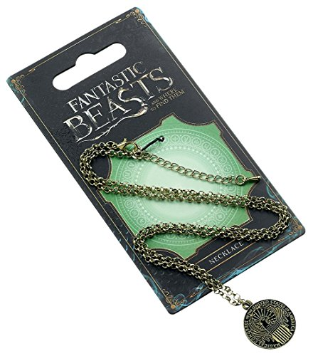 Fantastic Beasts Pendant & Necklace Magical Congress (antique brass plated) Other Pendenti Collane