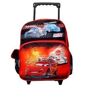 Cars Toddler Rolling Backpack