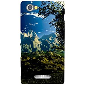 Sony Xperia M Back Cover - Magnetic Designer Cases