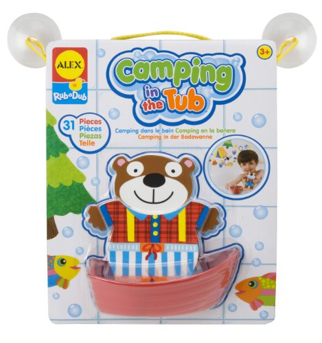 ALEX Toys Rub a Dub Camping in the Tub