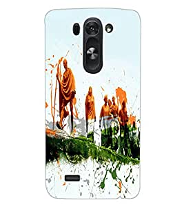 ColourCraft Amazing Painting Design Back Case Cover for LG D722K