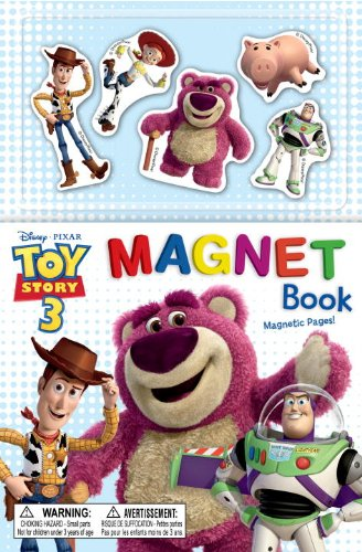 Toy Story 3: Magnet Book [With 5 Magnets] (Magnetic Play Book)