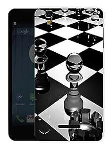 "Humor Gang Glass Chess Board Printed Designer Mobile Back Cover For ""Yu Yureka Plus"" (3D, Matte, Premium Quality Snap On Case)"