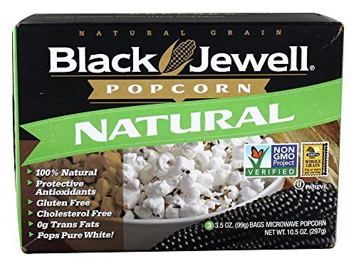 Black Jewell - All Natural Microwave Popcorn 3 Bags Natural Flavor - 10.5 oz. by Black Jewell (Black Jewell Microwave Popcorn compare prices)