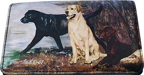 Labrador Retriever Dog Wallet Designed by Ruth Maystead (4 1/4