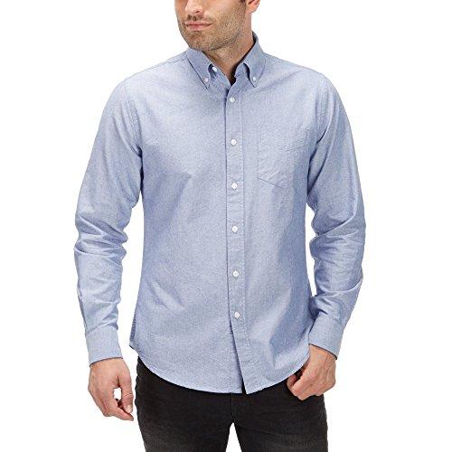 charles-wilson-long-sleeve-oxford-casual-shirt-large-sky