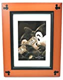 Disney Parks Mickey Mouse Beveled Cherry Wood 5 x 7 Photo Frame - Disney Parks Exclusive & Limited Availability