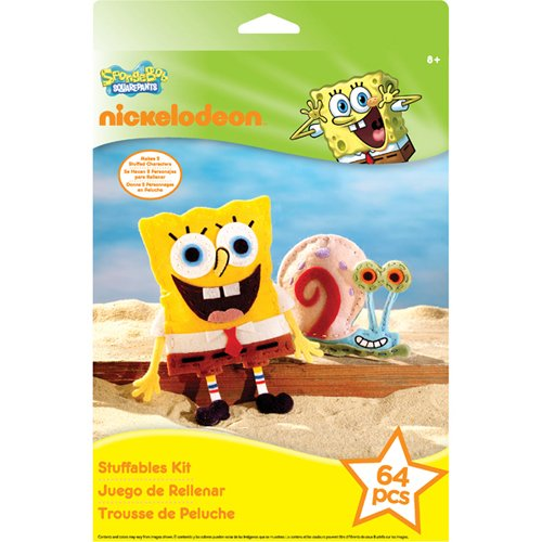 EK Success Nickelodeon Stuffables Kit SpongeBob - 1