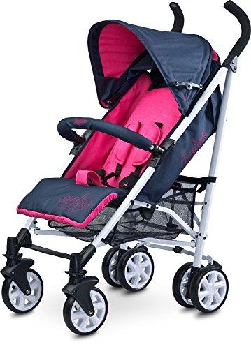 Caretero Moby Kinderwagen Buggy Reisebuggy Babywagen, Purple