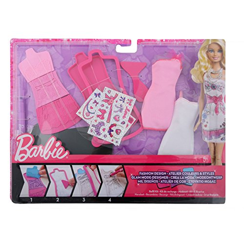 Barbie Fashion Design Plates Sweetie Extension Pack X7896 - 1