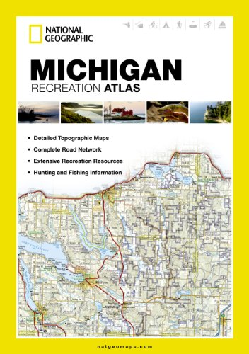 Michigan (National Geographic Map) (State Rec Atlas)
