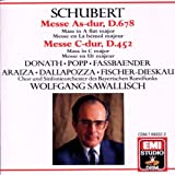 Schubert: Masses in A flat major & C major/Messe As-dur, D.678, Messe C-dur, D.452