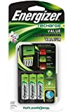 Energizer Value Charger with AA Rechargeable NiMH Batteries
