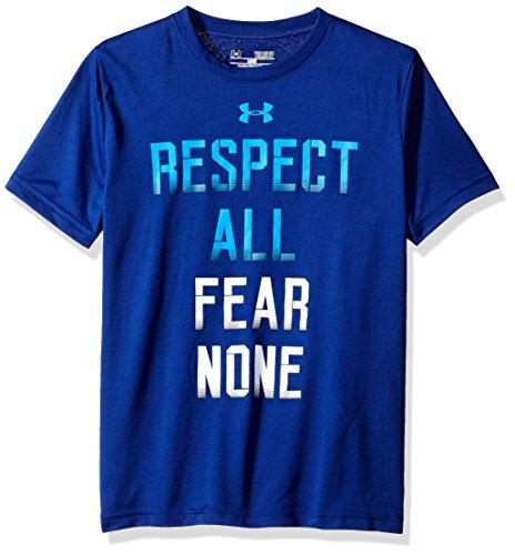 Fear None Caspian Under Armour-Maglietta sportiva, da bambino, taglia: L (taglia del produttore: YLG)