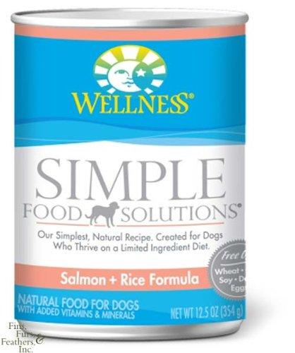 Dog Supplies Wellness Simple Dog Salmon/Rice