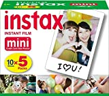 Fujifilm Instax White Film For Mini 90 8 25 7S 50s Polaroid Instant Camera-50PCS