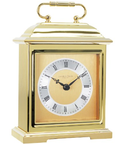 London Clock Brass Heavy Traditional Carriage clock
