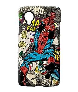 Comic Spidey - Sublime case for LG Nexus 5
