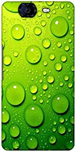 Snoogg Drops On Phone Designer Protective Back Case Cover For Micromax Canvas Knight A350