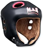 M.A.R International Ltd Kickboxing Head Guard Boxing Thai Boxing Mma Muay Thai Taekwondo Karate Judo Training Junior Black Black Junior