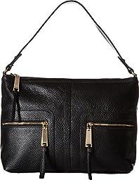 Tommy Hilfiger Women\'s Tgroup Zip - Hobo Black Shoulder Bag