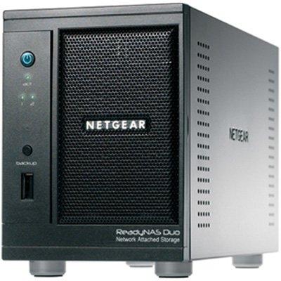 NETGEAR ReadyNAS Duo 2-Bay 2 TB (1 x 2 TB) Network Attached Storage RND2120 from Netgear