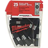 Milwaukee Electric Tool 48-32-4604 Shockwave Impact Duty insert Bit, NO 2, Phillips, 1