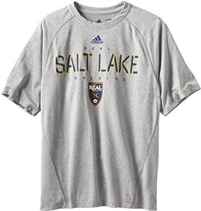 MLS Real Salt Lake Men's Training Graphic 2 Tee, Grey, Small
