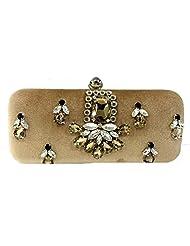 Craftstages Women's Clutch (beige) (BOX26)