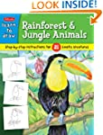 Learn to Draw Rainforest & Jungle Ani...
