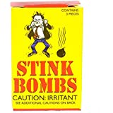 Rhode Island Novelty Stink Bombs Glass Vile Vials Novelty (Box of 36)